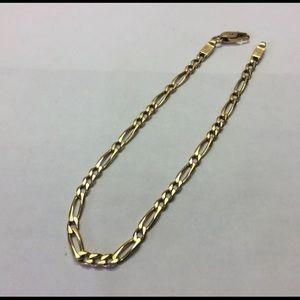 Real 14k gold bracelet unisex 4grams